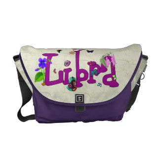 Libra Flowers Commuter Bags