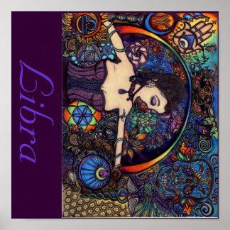 Libra GoddessNess Poster