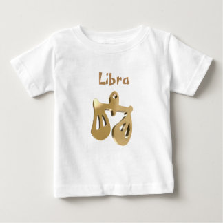 Libra golden sign baby T-Shirt