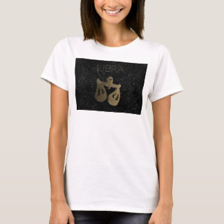 Libra golden sign T-Shirt