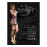 Libra Gothic Zodiac Birthday Print / Poster