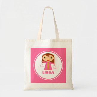 Libra is my Zodiac sign Budget Tote Bag