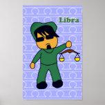 Libra Justice Chibi Print