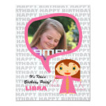 Libra Kids Party Invitation with Photo