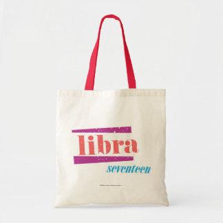 Libra LtPink Tote Bag