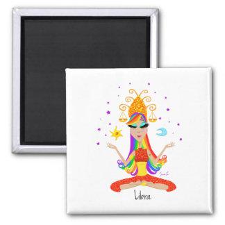 Libra Refrigerator Magnet