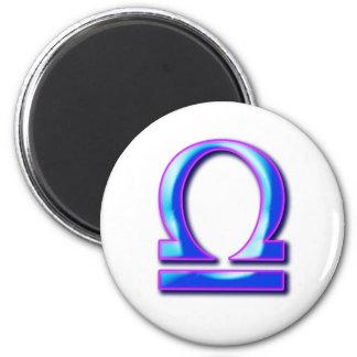 Libra Fridge Magnet
