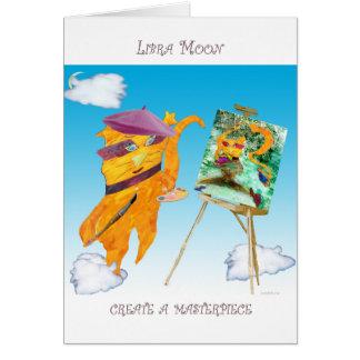 Libra Moon Card