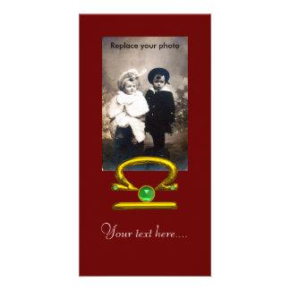 LIBRA CUSTOM PHOTO CARD
