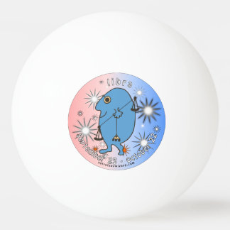 Libra Ping Pong Ball. Ping Pong Ball