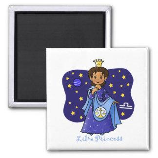 Libra Princess Fridge Magnets