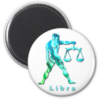 Libra Profile Magnet Refrigerator Magnet