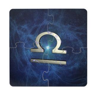 Libra Puzzle Coaster