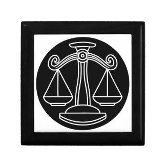 Libra Scales Astrology Horoscope Zodiac Sign Gift Box