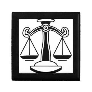 Libra Scales Horoscope Zodiac Sign Gift Box