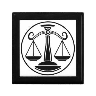 Libra Scales Zodiac Horoscope Sign Gift Box