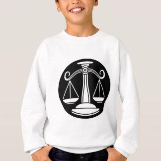 Libra Scales Zodiac Horoscope Sign Sweatshirt