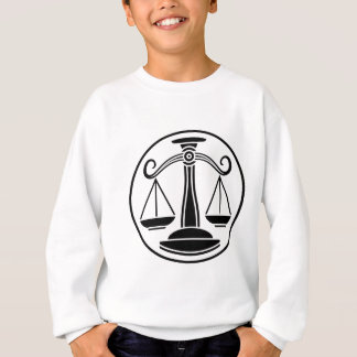 Libra Scales Zodiac Horoscope Sign Sweatshirt