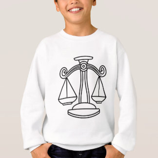 Libra Scales Zodiac Sign Sweatshirt
