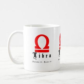 Libra, September 23 - October 22 Coffee Mugs