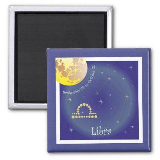 Libra September 24 tons of October 23 magnet