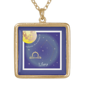 Libra September 24 tons of October 23 necklace