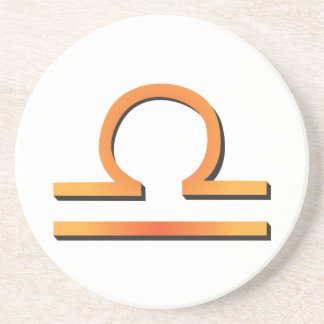 Libra Sign Coaster