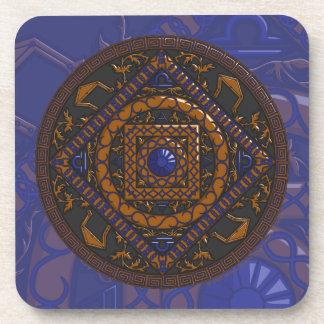 Libra Square Tile Drink Coasters