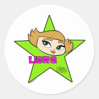 Libra Stickers