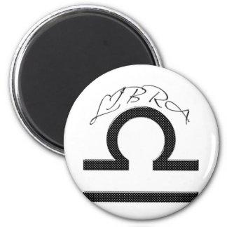 Libra Symbol Astrology Zodiac Fridge Magnets