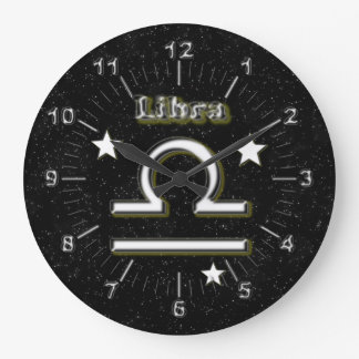Libra symbol clocks