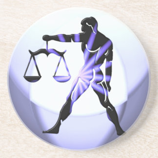Libra Symbol Coaster