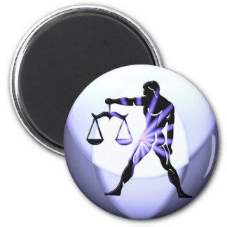Libra Symbol  Magnet