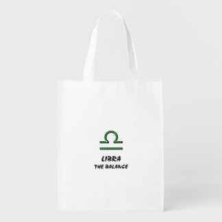 Libra the balance reusable grocery bag