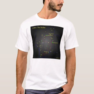 Libra the Scales Constellation T-Shirt