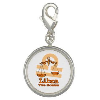 Libra The Scales Greek astrology orange charm