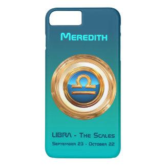 Libra - The Scales Zodiac Sign iPhone 8 Plus/7 Plus Case