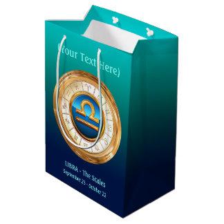 Libra - The Scales Zodiac Sign Medium Gift Bag