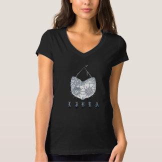 Libra Woman's Heavy Metal Style T-Shirt. T-Shirt