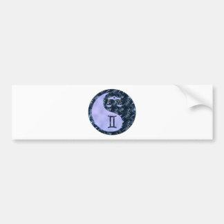 Libra Yin Yang Bumper Sticker