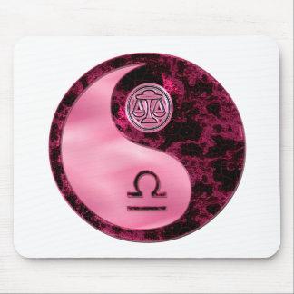 Libra Yin Yang Mouse Mat