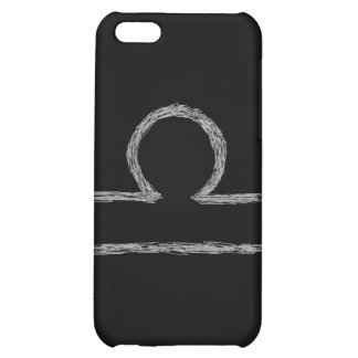 Libra Zodiac Astrology Sign Black Cover For iPhone 5C