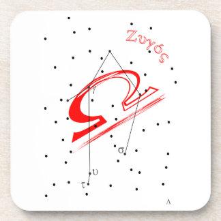 Libra Zodiac Coaster
