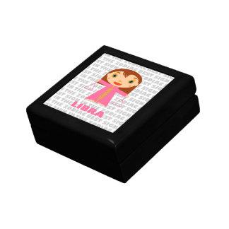 Libra Zodiac for Kids Jewelry Box