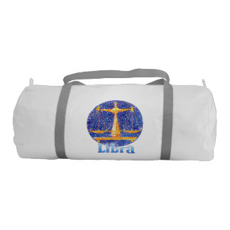 Libra - Zodiac Gym bag Gym Duffel Bag