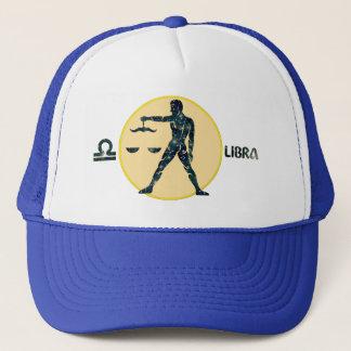 Libra Zodiac Opal Designer Modern Trucker Hat