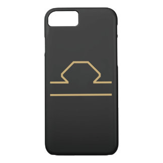 Libra Zodiac Sign Basic iPhone 8/7 Case