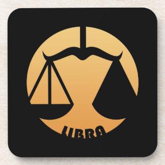 Libra Zodiac Sign Coaster