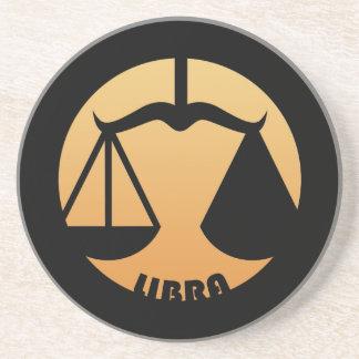 Libra Zodiac Sign Drink Coaster