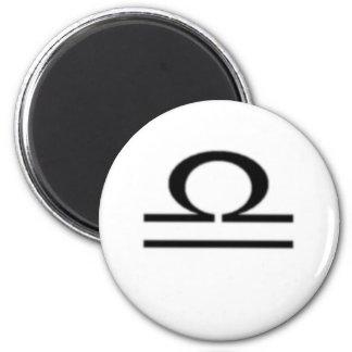 Libra, Zodiac Sign Magnet